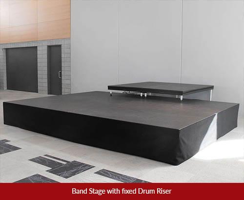 drum riser stage 1