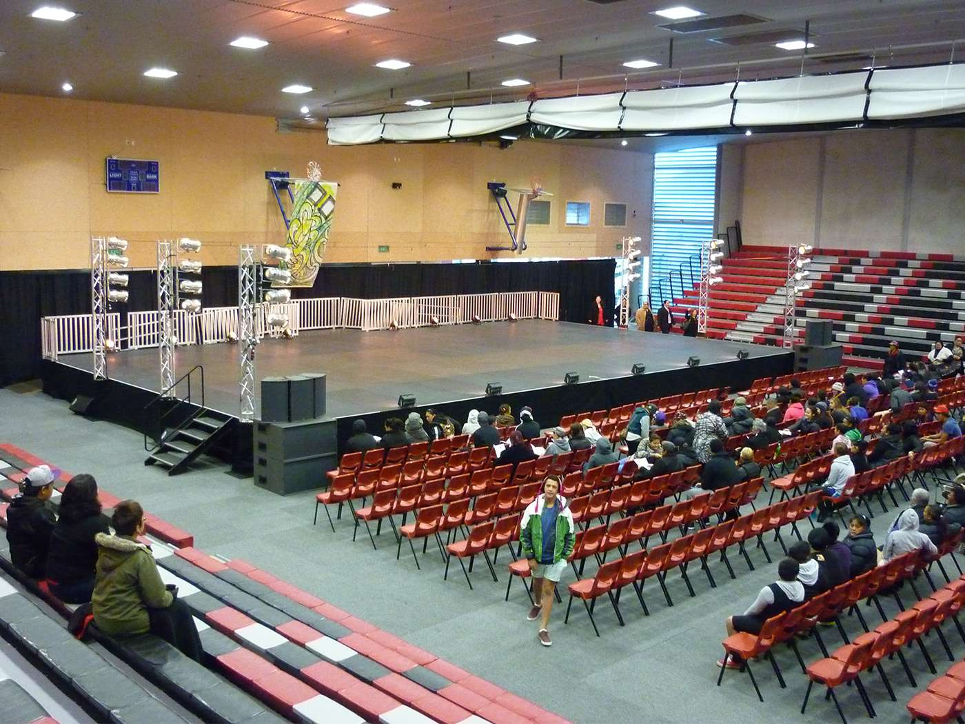 events centre stage