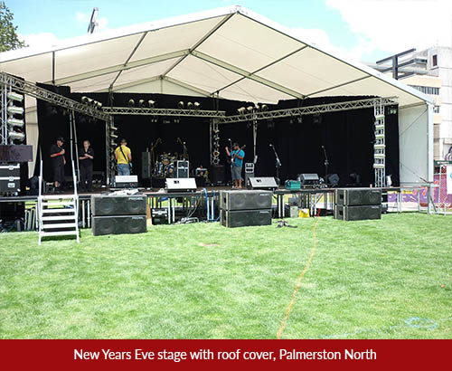 new years stage