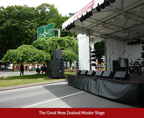 Muster Stage
