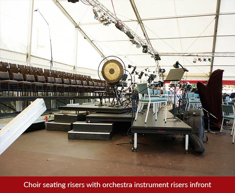 orchestra riser